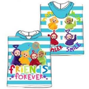 Teletubbies Mini Poncho Towel Blue